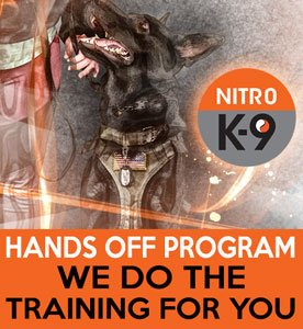 Nitro K9 Hands Off Program We Do The Training For You